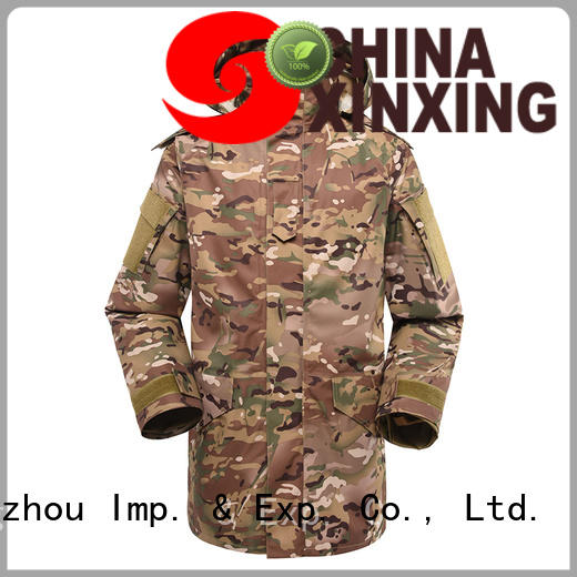 XinXing cost-effective military jacket trader for importer