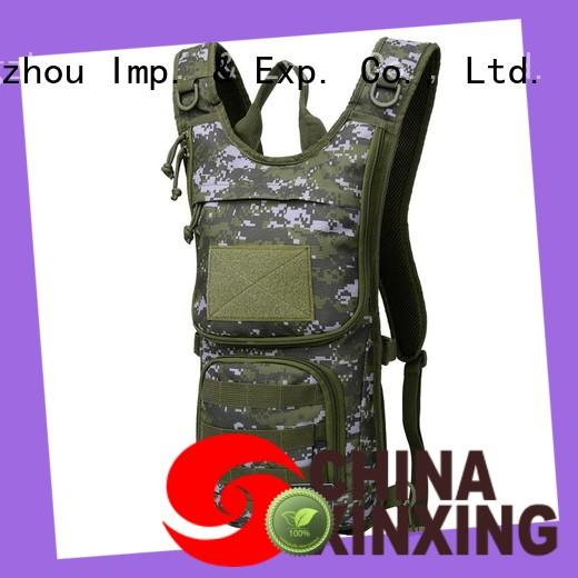 XinXing 100% quality hydration rucksack trader for soldiers