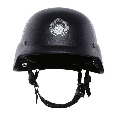 Aramid / PE materials PASGT style police Bulletproof Helmet BH001
