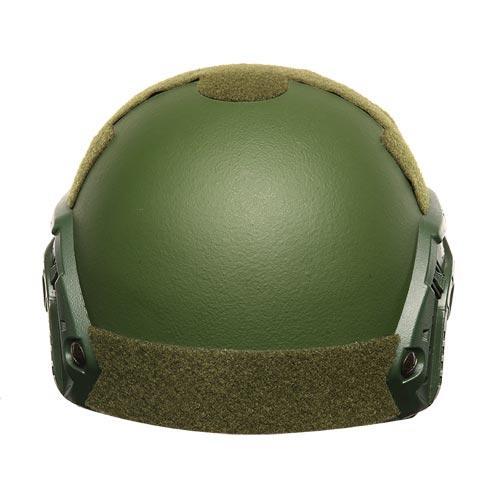 FAST design NIJ IIIA Aramid / PE Military Army Green Bulletproof Helmet BH003