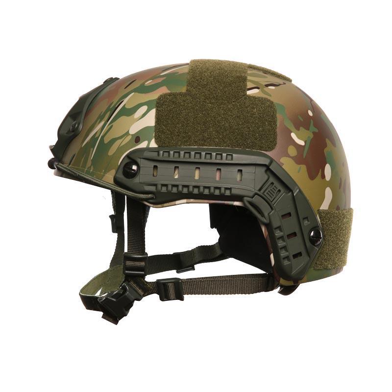 FAST design NIJ IIIA Aramid / PE materials Military Camouflage BulletProof Helmet BH005