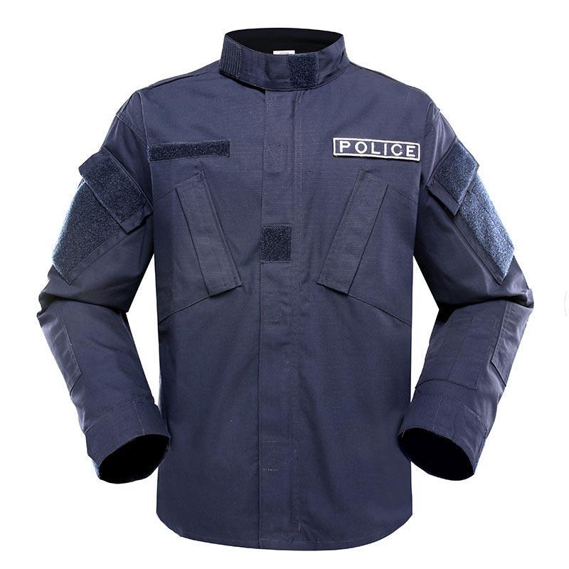 Police uniform dark blue color TC 65/35 210GSM PUXX01