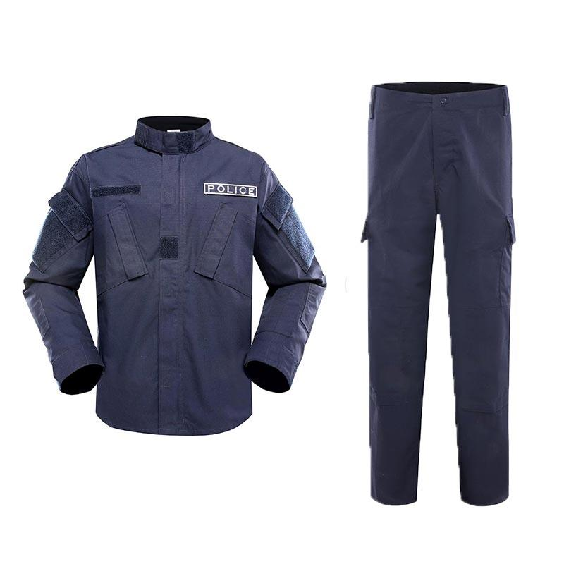 Police uniform dark blue color TC 65/35 210GSM PUXX01