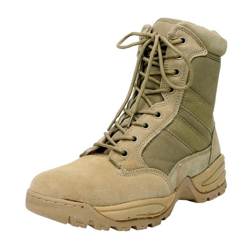 EVA and rubber outsole suede leather army boots tactical military boots for men mens hiking boots MB14