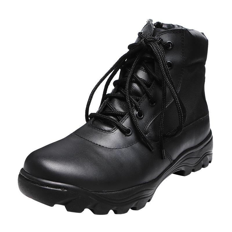 Black ankle genuine leather tactical boots army boots military ankle boots for men tactical boots sale MB17