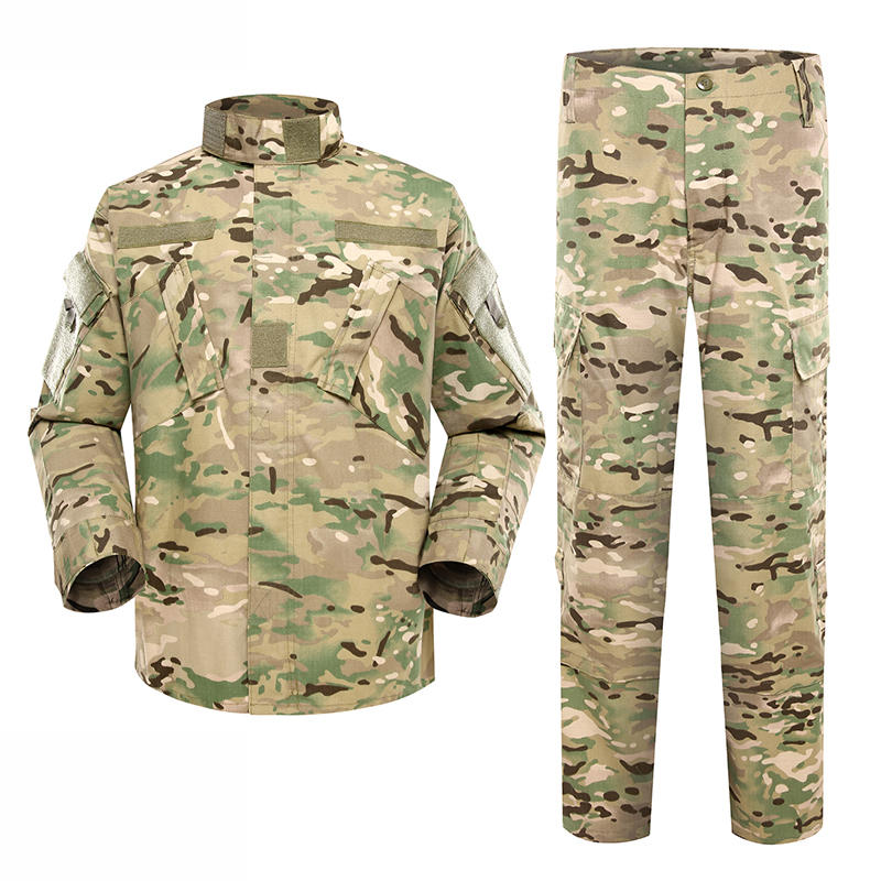 Military uniform Army Combat Uniform Model ACU Color Light Multicam For Military Solider MFXX10