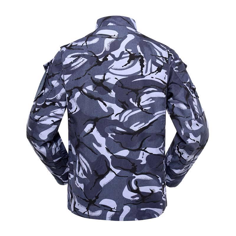 Military uniform Army Combat Uniform Model ACU Color Blue DPM Camouflage for soldier MFXX11