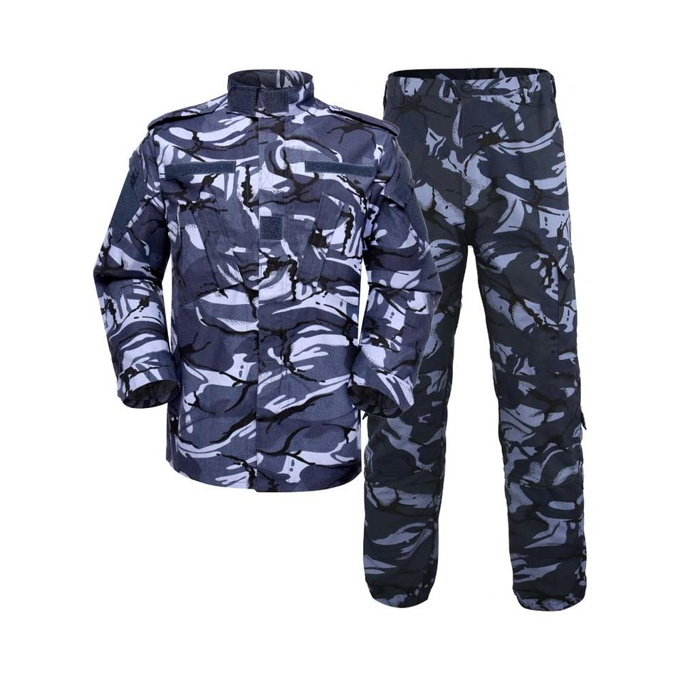 Military uniform Army Combat Uniform Model ACU Color Blue DPM Camouflage for soldier MFXX11