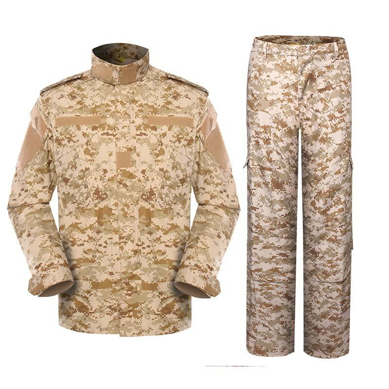 Military uniform Army Combat Uniform Model ACU Color Digital desert camouflage For Military Solider MFXX14