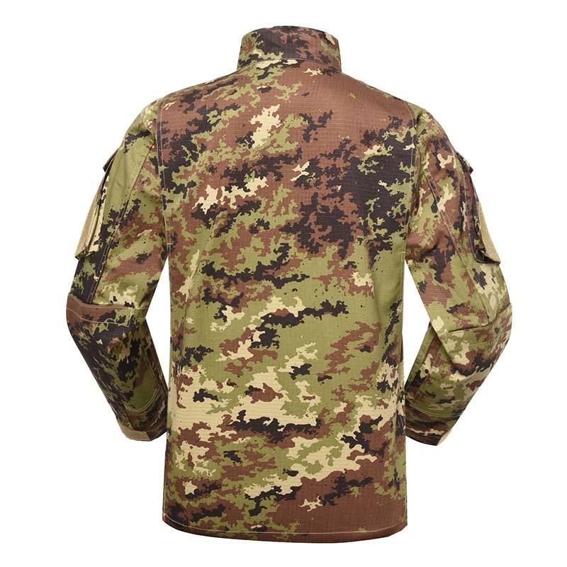 Military uniform Army Combat Uniform Model ACU Color Italian Vegetato Camouflage For Military Solider MFXX12