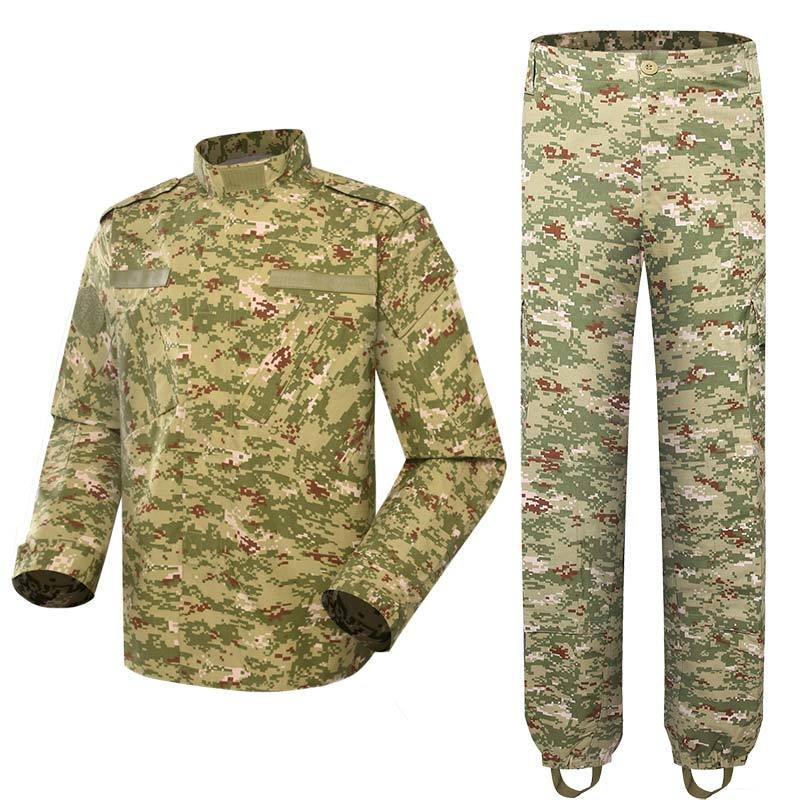 Kuwait military uniform Digital woodland camouflage CVC 50/50 210GSM for Kuwait army force MFXX04