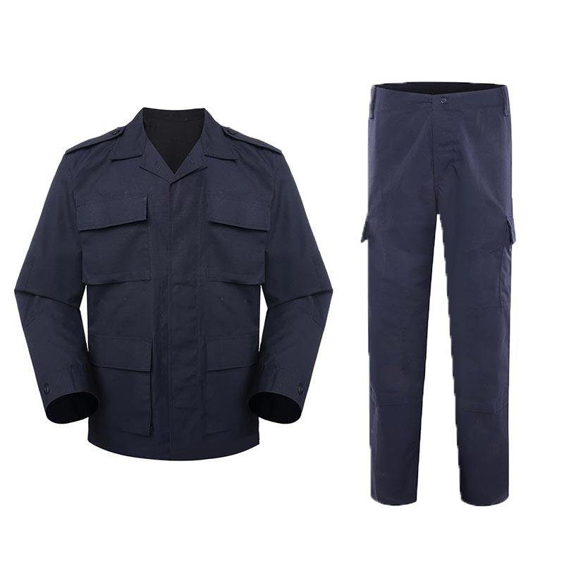 Police uniform dark blue color TC 65/35 250GSM PUXX02