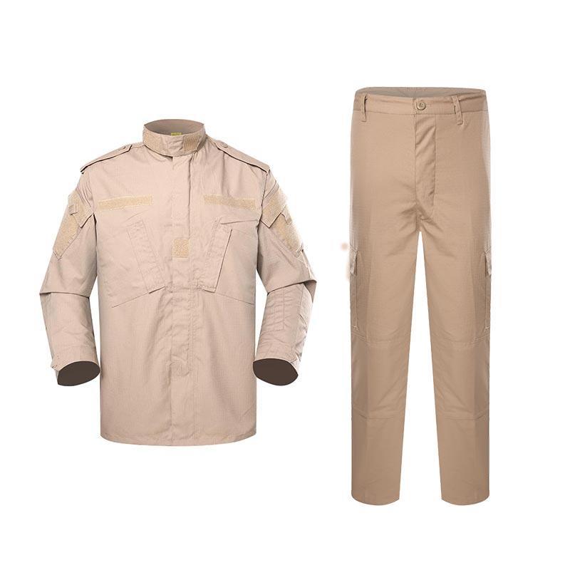 Police uniform sand color TC 65/35 210GSM PUXX03