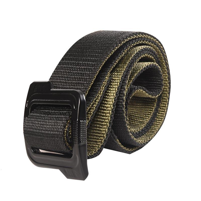 Double Side Two Layers High Tensile Strength Military Tactical Belt in Olive and Black Color RB22