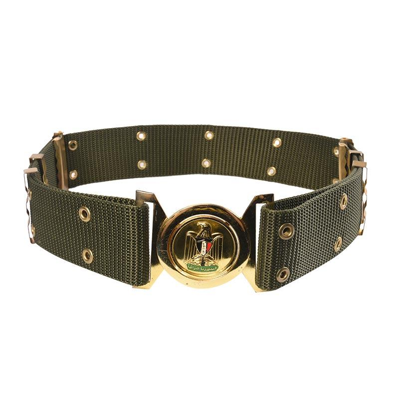 Kuwait Police Olive Green PP Military Uniform Belt RB21