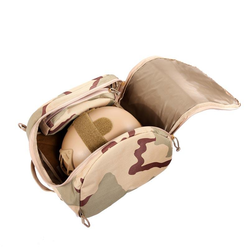 Desert camouflage military army ballistic bulletproof  helmet bag with handle of ABXX02