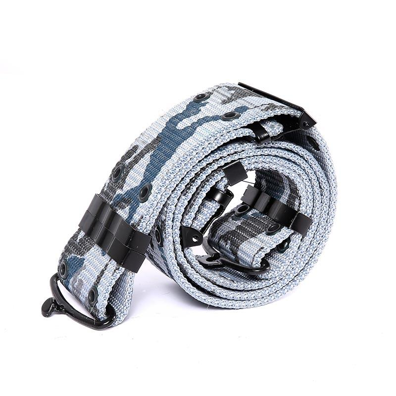Marine Camouflage PP Webbing Military Belt for Uniform RB05