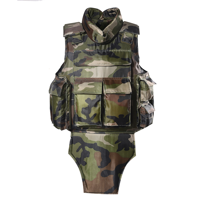 Custom camouflage military bulletproof vest full body armor vest army ballistic jacket of BVXX-03