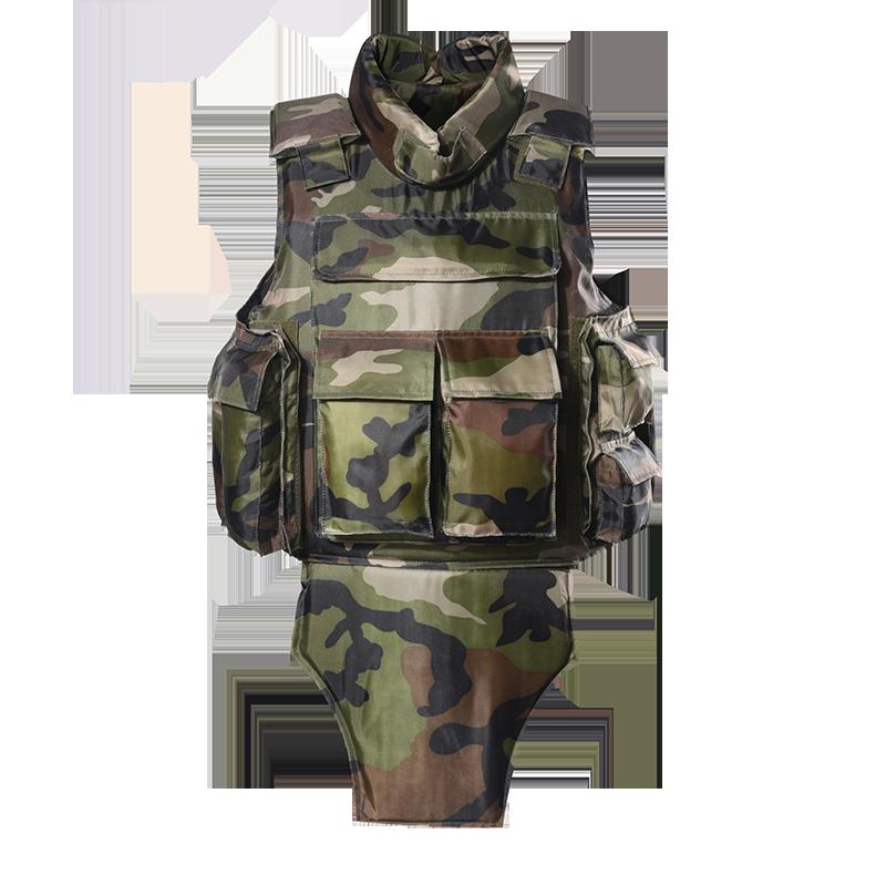 Custom camouflage military bulletproof vest full body armor vest army ballistic jacket of BVXX-03