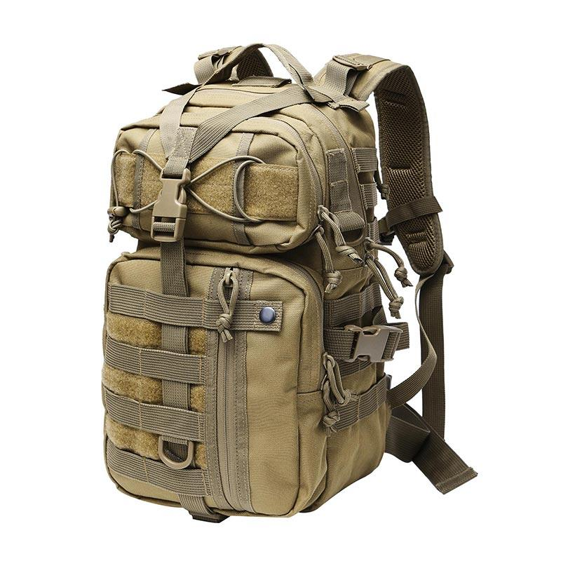 Qatar Army 600D Polyester Oxford 3 Day Military Combat Backpack in Khaki TL89