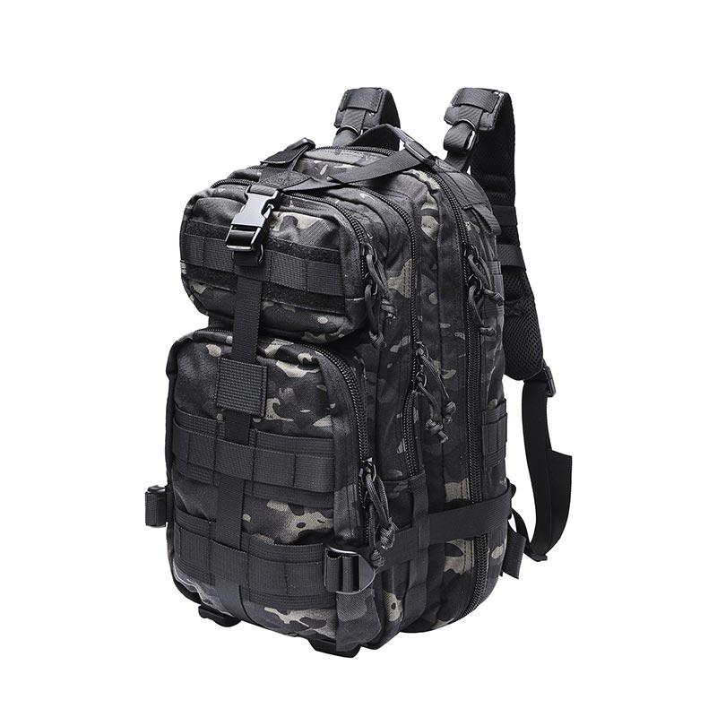 Georgia Army Multicam Black 600D Polyester Oxford 3 Day Military Combat Backpack TL86