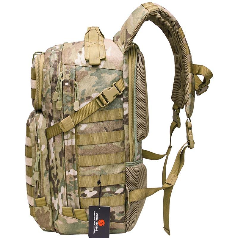 Lebanon Multicam 45L Waterproof Multicam Camouflage Military Army Backpack with wind flow foam design on the back TL19