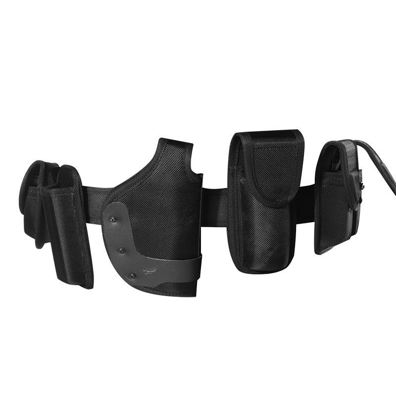 Wholesale duty belt police security tactical equipment system utility belt with pistol gun holster of PAXX01