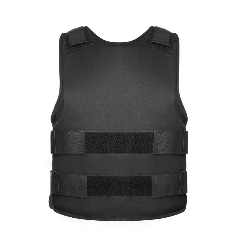 Black Concealed Bulletproof Vest Military Army Ballistic Vest NIJ IIIA Aramid of BVXX-06