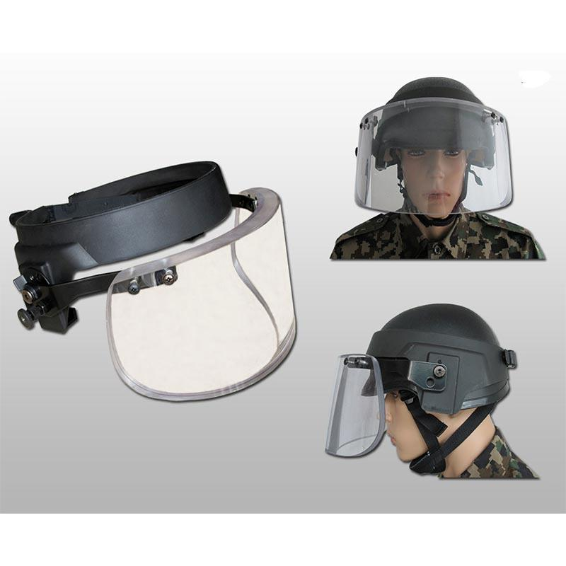 LEVEL IIIA  Bulletproof mask Bulletproof visor BMXX01