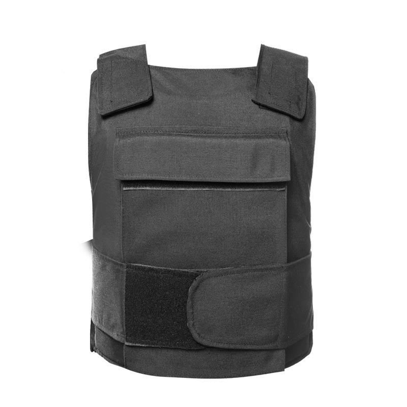 Black color Police and Army use Bulletproof Vest NIJ IIIA level of BVXX-09