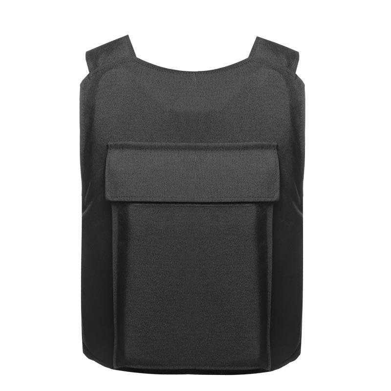 Black color Police and Army use Bulletproof Vest NIJ IIIA level of BVXX-09
