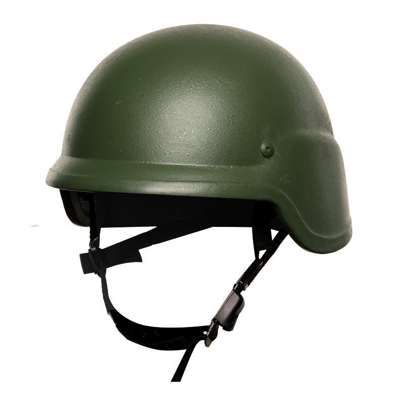 Military Ballistic Bulletproof Helmet PASGT NIJ IIIA Aramid PE Green color of BHXX006
