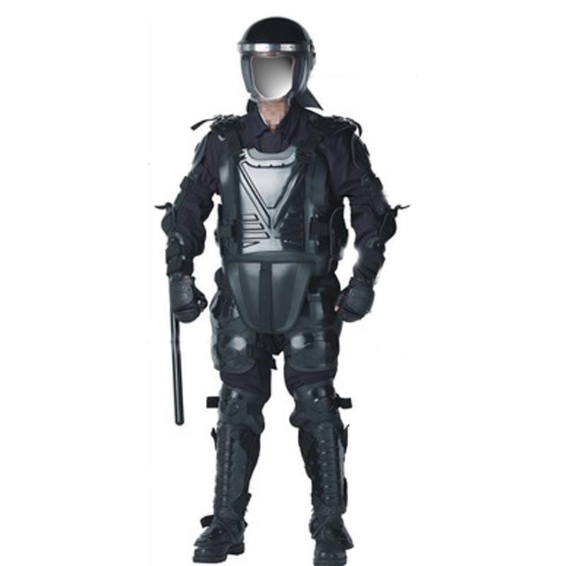 Police use protective suit and Anti-Riot suit 005