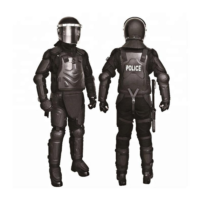 POLICE USE SAFETY PROTECTIVE BLACK COLOR ANTI-RIOT SUIT-FBF02