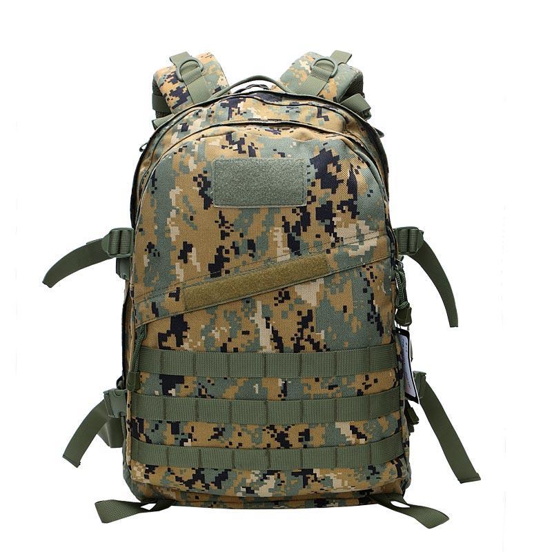 Italian Woodland Digital Camouflage Army Radio Station Backpack TL31
