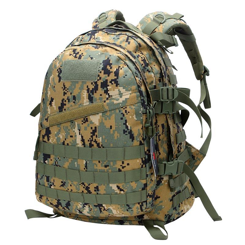 Italian Woodland Digital Camouflage Army Radio Station Backpack TL31