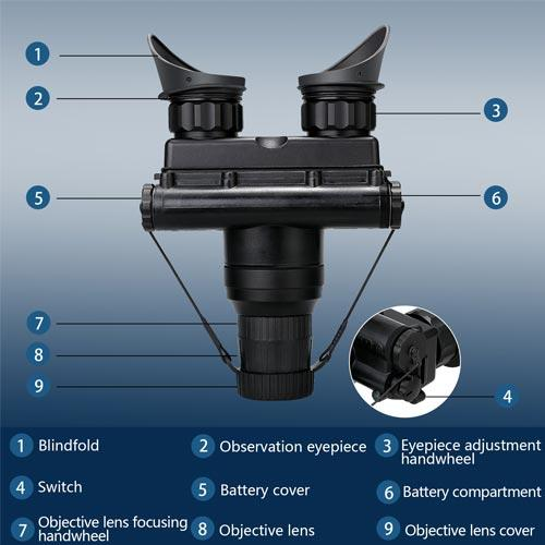 Military Army Night Vision Binoculars Night -02