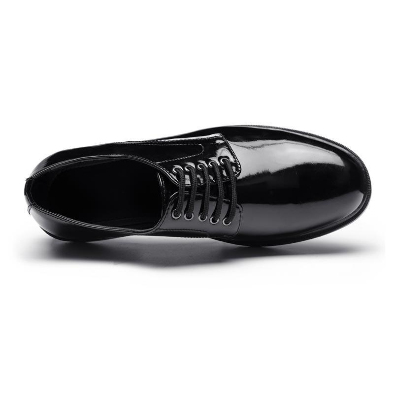 Polished genuine leather men's dress shoes genuine leather officer leather shoes dress shoes men LS04
