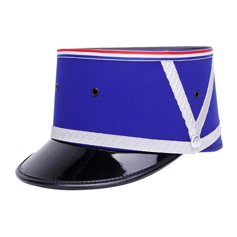 Blue polyester military ceremonial suit cap ceremonial cap army caps military cap MAXX04