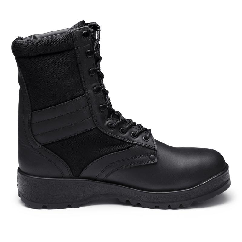 Double density injection men boots genuine leather combat boots military hiking boots MB20