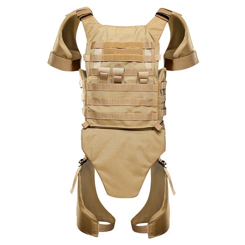 Khaki color bulletproof vest Body armor full protection ballistic jacket BVXX-14