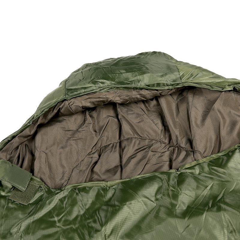 olive green color mummy style waterproof sleeping bag SLPB-01