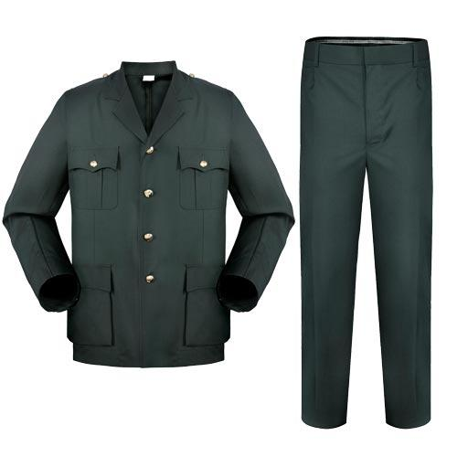 Military Olive Green woolen material men's officer uniform