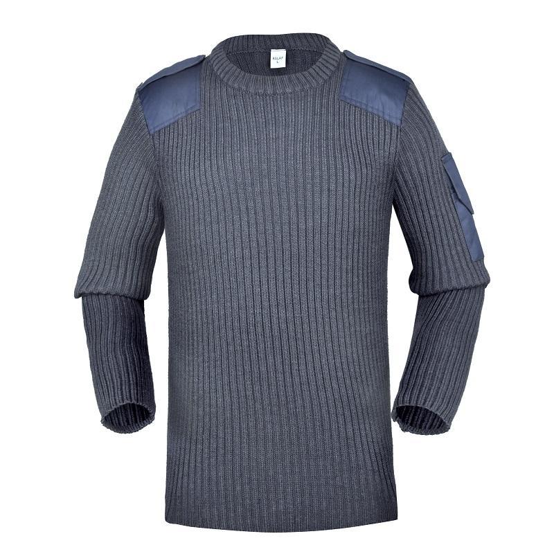 Wool/acrylic blue navy uniform supply military army uniform military sweater CXGZSW-09