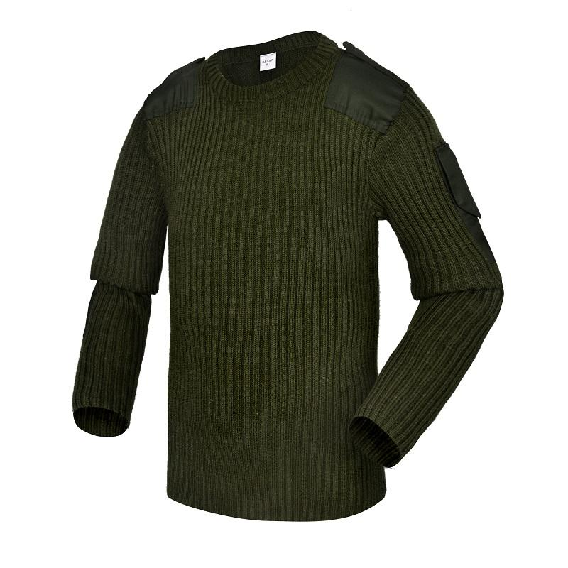 Army green 650g wholesale militry uniforms custom military uniforms army sweater CXGZSW-10