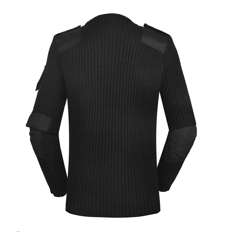 Police black wool military clothing wholesale custom army uniforms army sweater CXGZSW-11