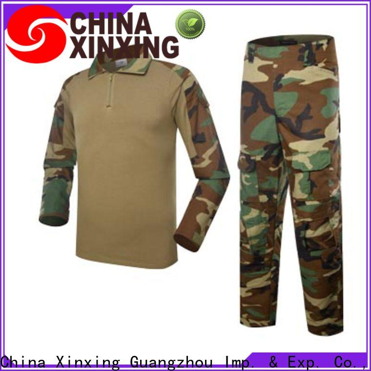 XinXing stable supply acu uniform manufacturer for police