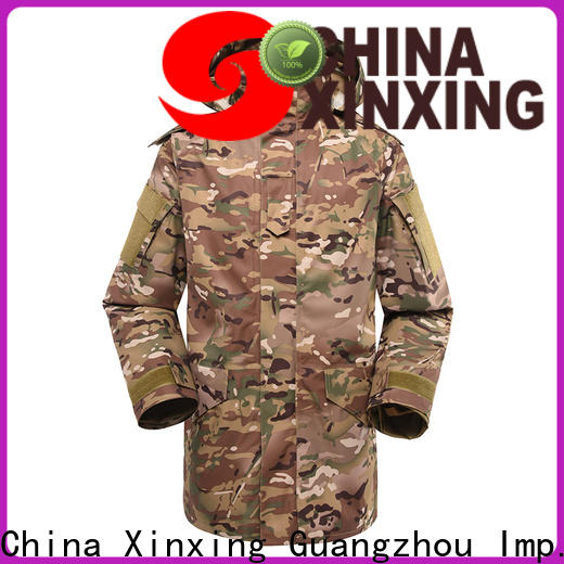 XinXing cost-effective army style jacket eco-friendly for police