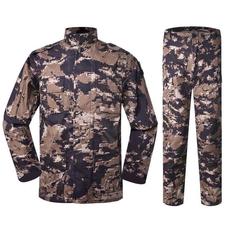 Jordan Army Grey Digital Camouflage Color Combat Dress Uniform BD10