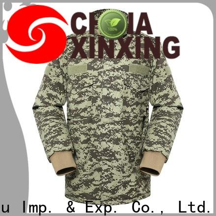 XinXing military style jacket low cost for importer